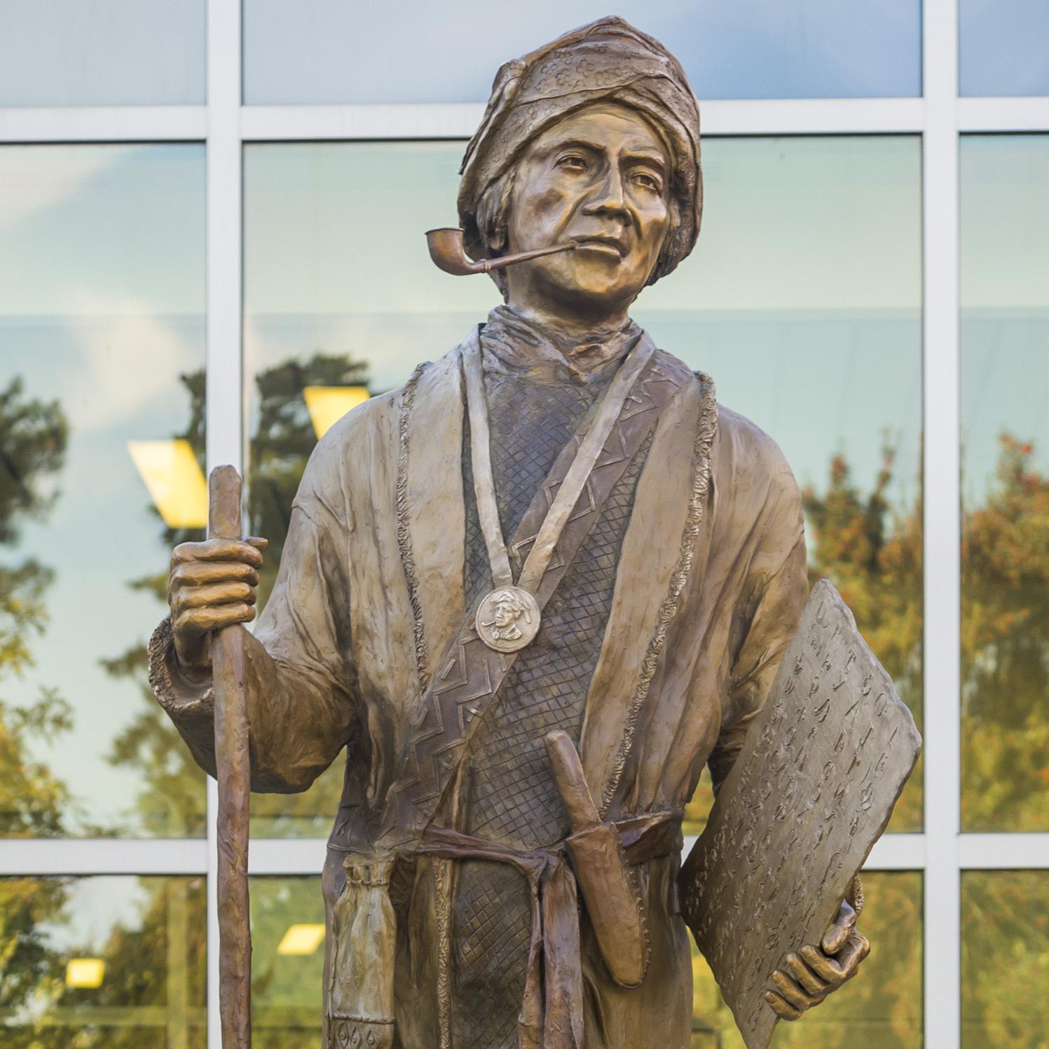 Sequoyah Monuments