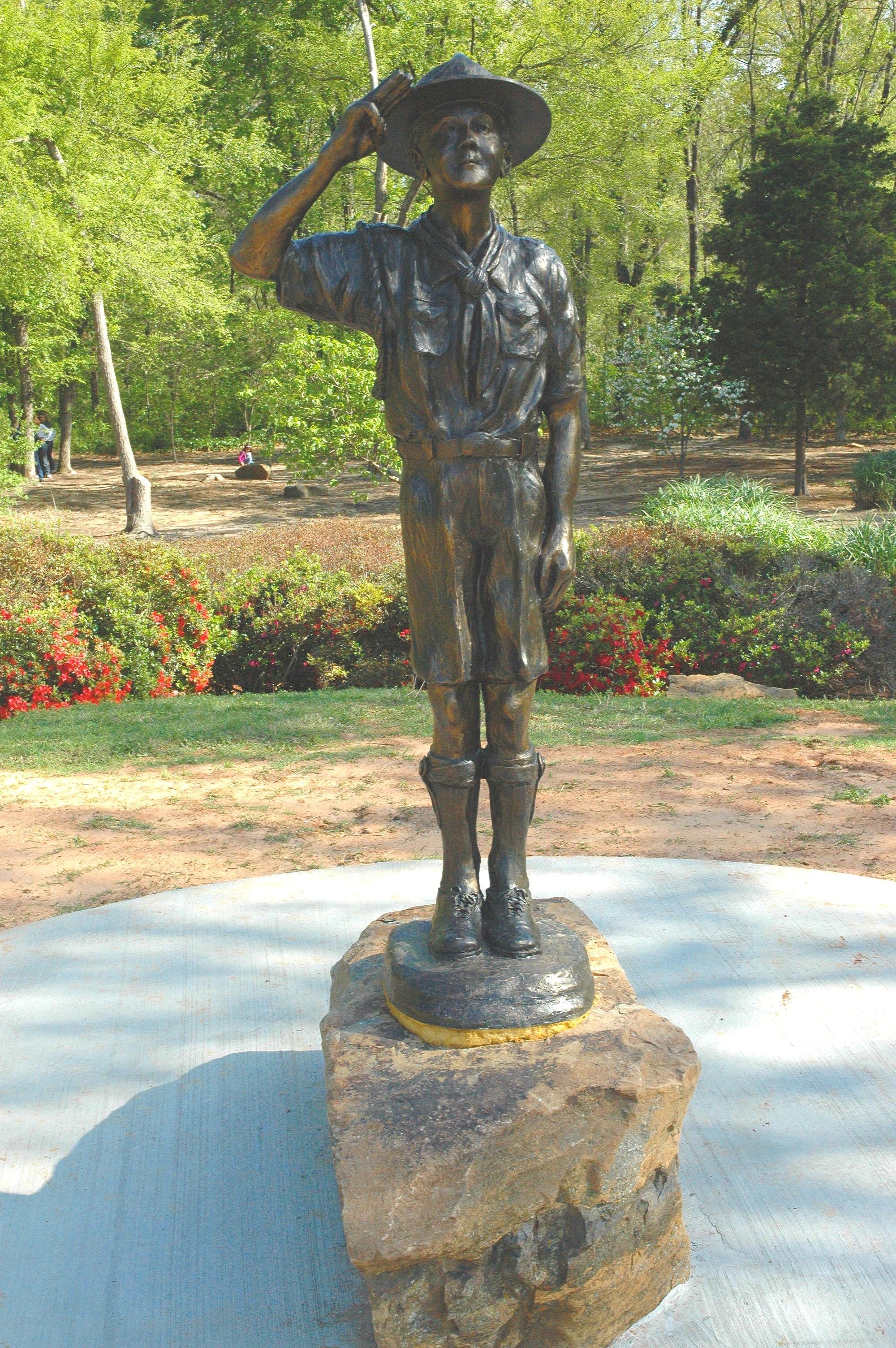 Boy  Scout Monuments