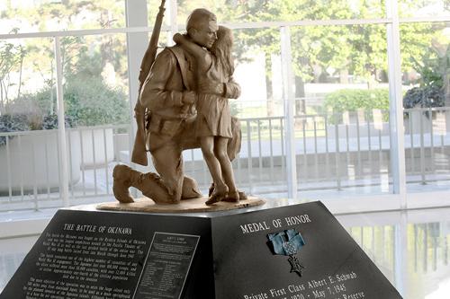 PFC Albert E. Schwab Monument