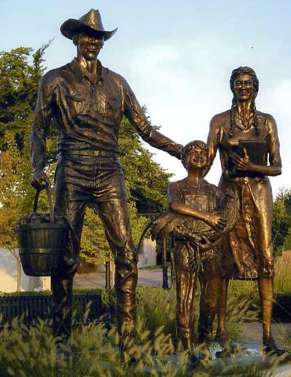 Pioneer Family Monuments
