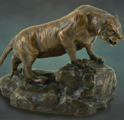 Siberian Tiger Sculptures